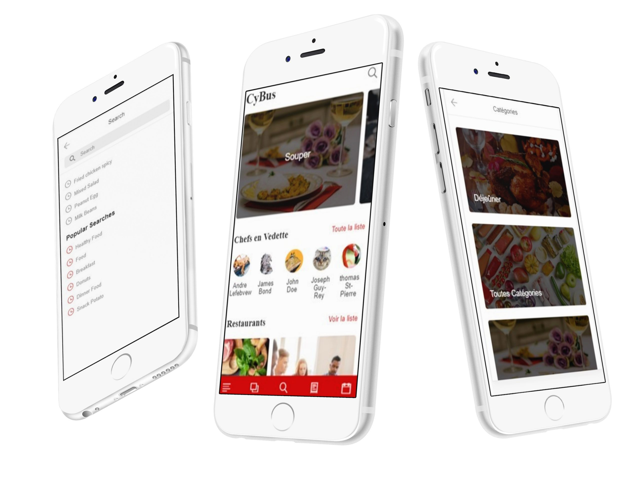 development of the Cybus mobile application